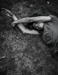SKIN (Yozy Garvey) Tags: portrait blackwhite emotion body bodylanguage