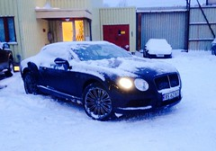 Bentley in a norwegian winter (stein380 Thanks for over 4,1!! million views) Tags: winter oslo norway norge vinter cab bentley cabrolet covertible
