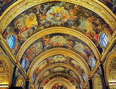 St. John's Co-Cathedral, La Valletta-Malta (1st series) (jackfre2) Tags: island cathedral malta lavalletta stjohnscocathedral knightsofstjohn