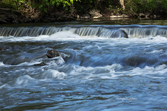 Clive, Iowa 5/14/2016 (Doug Lambert) Tags: nature water outside waterfall midwest iowa clive clivegreenbelttrail