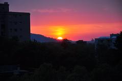 Sonnenuntergang (Katholische Kirche Vorarlberg) Tags: sunset dornbirn sonnenuntergang kolpinghaus