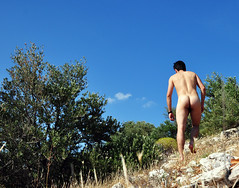 small naked hike (naturelover!) Tags: nature naked nude greek greece naturism nudist naturist nudism