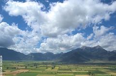 (dinoscom) Tags: sky green clouds landscape nikon sunny greece korinthia d40 feneos nikond40