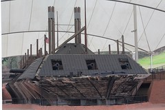 USS Cairo (Piedmont Fossil) Tags: park museum mississippi ship military navy cairo civilwar shipwreck national uss vicksburg recovered ironclad gunboat