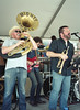 The Mighty Souls (Sean Davis) Tags: memphis band trumpet wiseacre tuba