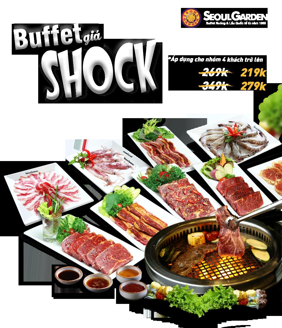 Seoul Garden Buffet giá shock