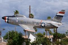 51-6261 F-86D Sabre - Preserved - Chandler, AZ (David Skeggs) Tags: aircraft aeroplane sabre chandler usaf usairforce f86 davidskeggs