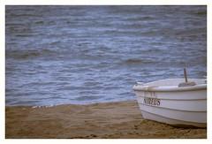Spring days at the beach (s1nano) Tags: sea beach water boat sand places thalassa nikontc200 kakovatos tamron90mmspmacrof25 nikond7000