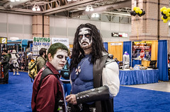 The Joker and Lobo (misterperturbed) Tags: newjersey atlanticcity joker lobo thejoker atlanticcityboardwalkcon