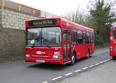 GAL MB 254 - SN54GPZ - NSF - CHELSFIELD LANE - TUE 15TH MAR 2016 (Bexleybus) Tags: london ahead go lane dennis dart metrobus adl 254 orpington goahead chelsfield sn64gpz