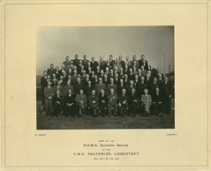National Association of Cooperative Managers visit Lowestoft 1947 (audinary_music) Tags: cooperativewholesalesociety elkins