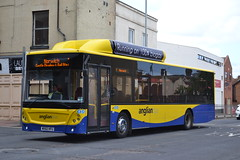 Anglian Bus 105 WX62HFU (Will Swain) Tags: great yarmouth 14th may 2016 south east norfolk town bus buses transport travel uk britain vehicle vehicles county country england english centre anglian 105 wx62hfu