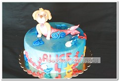Mermaid Skye (Dolcegacreations) Tags: ocean sea skye mare mermaid sirena oceano pds spongecake pdz sugarpaste pandispagna pastadizucchero dolcegacreations wwwdolcegacom pawpatrol dolcega