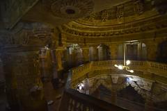 Upstairs (Rick Elkins Trip Photos) Tags: india building temple worship religion jain jaisalmer rajasthan