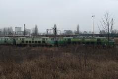 PKP, ET22-595 and ET22-858 (Chris GBNL) Tags: train pozna pkp pociag polskiekolejepastwowe et22 pkpcargo et22858 et22595