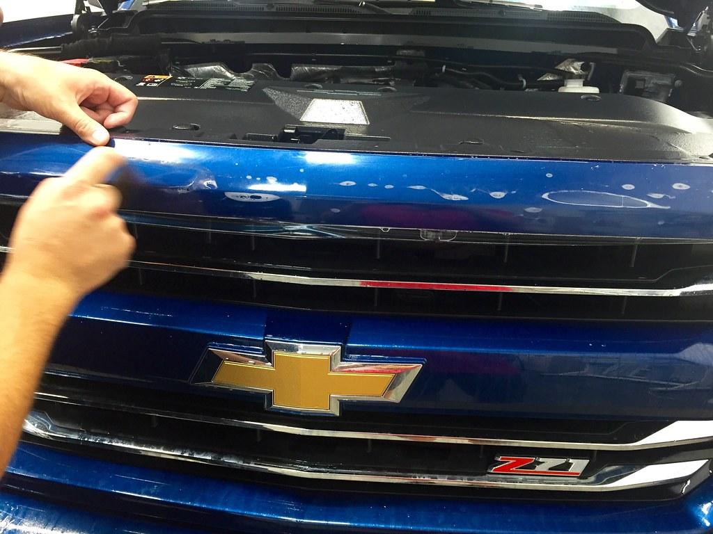 2016 Chevy Silverado 1500 Z71 (Deep Ocean Blue Metallic)