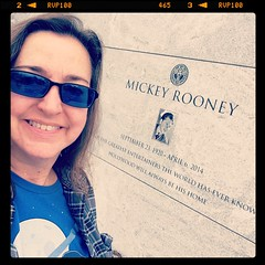 Me and Mickey (katerz1) Tags: mickeyrooney fone hollywoodforever