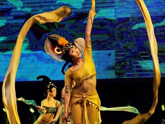 China in motion (__Thomas Tassy__) Tags: xian china chine chinese dance dancing moving color show spectacle dancer danseuse traditional typical beautiful kodak opera theatre asian asia elegant