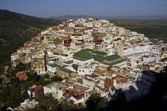 Mousy Idriss 2016 Morocco (clmenceLiu ) Tags: mountains mosque morocco maroc atlas oldtown moroccan volubilis moulayidriss