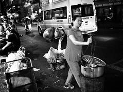 Street Food | Ho Chi Minh (-Faisal Aljunied - !!) Tags: blackandwhite monochrome streetphotography streetlife vietnam dailylife saigon streetfood ricohgr hochiminh bwstreetphotography faisalaljunied