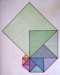20151127a (regolo54) Tags: art pattern handmade geometry symmetry fibonacci math fractal escher warercolor regolo54
