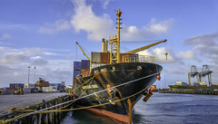 ports of auckland (photoheroes) Tags: new water clouds g4 ship lg auckland zealand wharf ports android