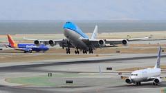 (A Sutanto) Tags: southwest plane airport san francisco sfo united off international take boeing klm kl runway spotting ua wn ksfo