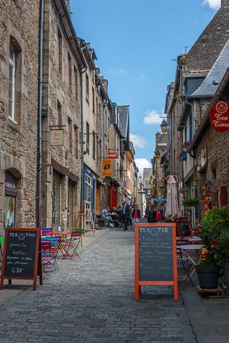Rue de la Chaux à Dinan