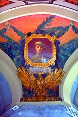 New York State Capitol ~ Albany New York ~ Governors Reception Room Murals (Onasill ~ Bill Badzo) Tags: ireland portrait england ny newyork english history dutch stone wales architecture self french t known soldier 1 see scotland site mural war arch state room military great paintings goddess skylight style flags roosevelt ceiling historic canvas un architect reception staircase harmony dollar western million albany dodge column vault register guide must tours romanesque col hdr carvings attraction battles richardson governors richardsonian albanycounty nrhp captitol wworld wordwar1 ceiligs onasill snapseed iroquiscivilwar