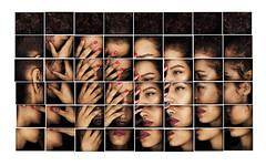 C ... (Ronaldkoster.com) Tags: portrait girl strange ronald hands mosaic parts tiles workshop unreal septum koster fragments masterclass ronaldkoster