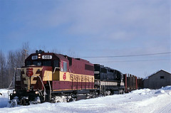 Common Power (ac1756) Tags: michigan wc wisconsincentral wcl newberry 586 sdl39 l43