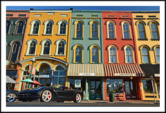 Depot Town Storefronts - a Matter of Perspective (sjb4photos) Tags: 2016depottown depottown michigan ypsilanti washtenawcounty