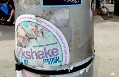 Stickers (rogerpb) Tags: street city urban tourism sticker stickerart belgium belgique text sightseeing streetphotography belgi lettering belgica antwerpen amberes anvers flanders flandres vlaanderen belgianstreetart panasoniclumixdmctz8 rogerbrosius