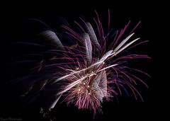 Fireworks (long exposer-3) (Captions by Nica... (Fieger Photography)) Tags: fireworks night sky quebec canada long exposer