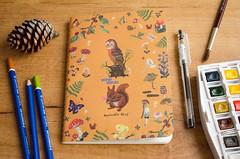 Summer art journal 2016 (Wasel Wasel Crafts) Tags: art journal journaling ilustration ilustracin cuaderno verano nathalie let diario creativity