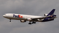 N522FE (MD-11) at KMEM (novarese) Tags: fdx fedex md11 mem trijet md11f kmem n522fe