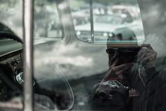 The Feeling of Nostalgia (Toni_V) Tags: auto me car reflections schweiz switzerland europe suisse rangefinder oldtimer mp svizzera carshow selfie berneroberland berneseoberland simmental 2016 ststephan svizra summiluxm uscar leicam hangarrockin niksoftware 35lux messsucher carmeeting 160701 35mmf14asphfle typ240 analogefexpro2 toniv flugfeldststephan m2400552
