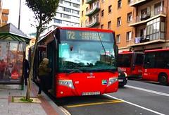 Bilbobus 72 (inigo.vanaman) Tags: espaa bus spain country bilbao autobus bizkaia basque 72 euskadi castaos scania larraskitu bilbobus