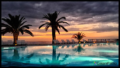 Paradise in Earth (Gaiani Fabio) Tags: tramonto piscina tropea