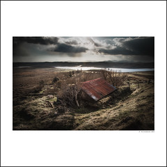 Leurbost (The Unexplored) Tags: roof rural photoshop tin scotland nikon rust decay lewis western outer nikkor isle photoart isles hdr hebrides lightroom hebridean photomatix unexplored 1685mm grimgit thegrimgit theunexplored