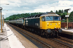 47 454, Chesterfield, 05-09-87 (afc45014) Tags: 47454 chesterfield brush sulzer class47