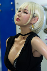 Seoul Auto Salon 2014 - Cammsys Model (Skagos26) Tags: portrait people woman hot sexy beautiful fashion asian person outfit promo model nikon women dof modeling autoshow korea korean seoul southkorea promotional carshow gangnam coex  carmodel promotionalmodel  d7100 eventmodel