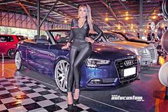 Gostou da Audi? (AutoCustom) Tags: blue sexy girl azul mulher convertible blond gata sjc playboy garota audi a5 brasileiro loira luso braziliangirl conversivel