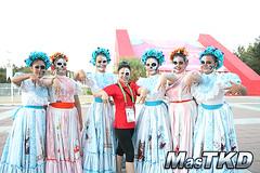 Mundial de Poomsae 2014, Día 1