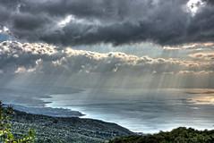 Autumn clouds (dimitrismaggioris) Tags: autumn nature colors clouds landscape greece hdr pelion vilage wideanglelens volos magnesia southpelion nikon18105 nikond7100 samyang16mmf20 aggeorgiosnilias
