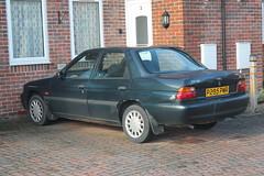 1996 Ford Escort LX saloon