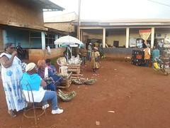 Marktstaende in Babouantou