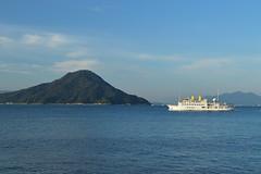 安芸小富士2・Mt.Aki Fuji (anglo10) Tags: mountain japan seashore 山 海 瀬戸内海 広島 宇品 広島湾 似島 安芸小富士