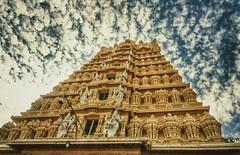 Chamundi hills, mysore (gandhi88) Tags: sony temples pointandshoot karnataka mysore chamundihills chamunda templearchitecture mahishasuramardini templesinindia karnatakatemples chamundeshvari snapseed mahabalachala