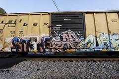 Strike (Revise_D) Tags: graffiti zee db strike graff freight revised wh fr8 bsgk benching benchingsteelgiants